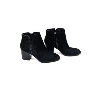Sofft Wilton BLACK Oiled Cow Suede Booties